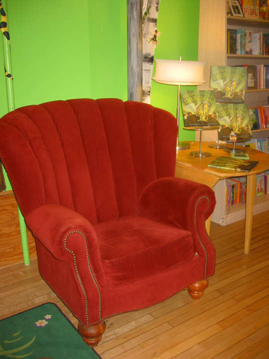 Apple Blossom Books chair